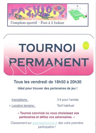 AFFICHE TOURNOI PERMANENT