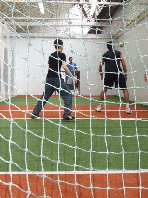 joueurs de jorkyball chez jorky